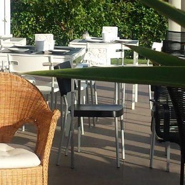 Bed and Breakfast Colle Selvotta Vasto - Breakfast in the garden