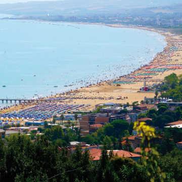 The Beach of Vasto Marina